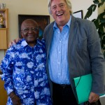 Archbishop Emeritus Desmond Tutu meets with Michael Mansfield QC