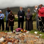 Members of the Russell tribunal on Palestine during District Six Tour.