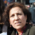 Radhia Nasraoui - Tunisian lawyer, specializing in human rights